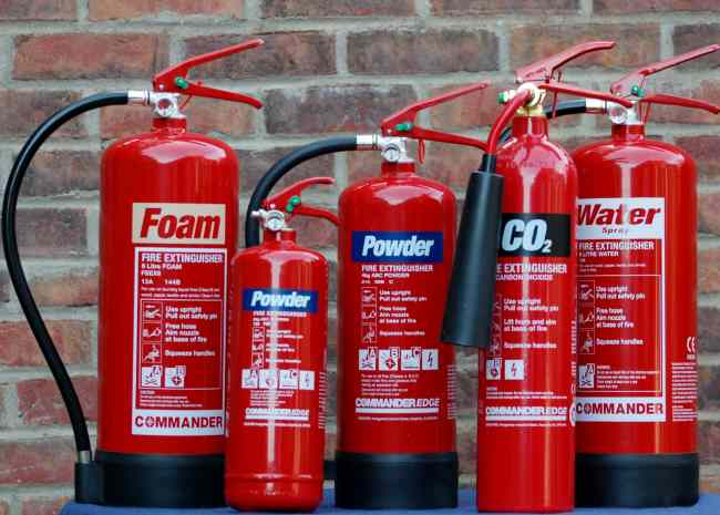 Fire extinguisher maintenance and installation