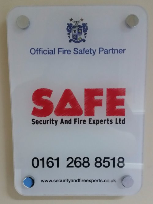 Bury FC Official Fire Safety Partner